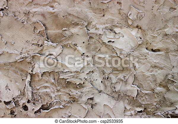 Rough Plaster wall