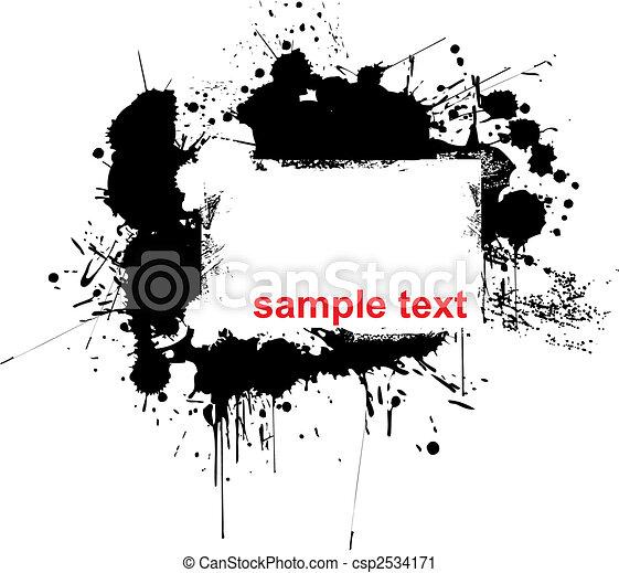 splashes - csp2534171