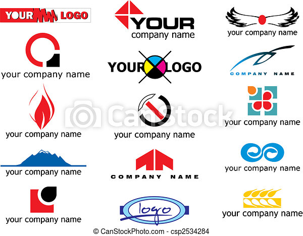 vector logo elements - csp2534284