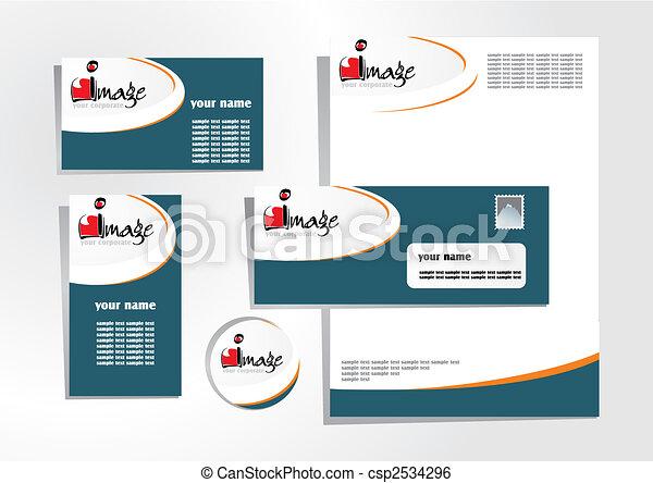 corporate identity 6 - csp2534296