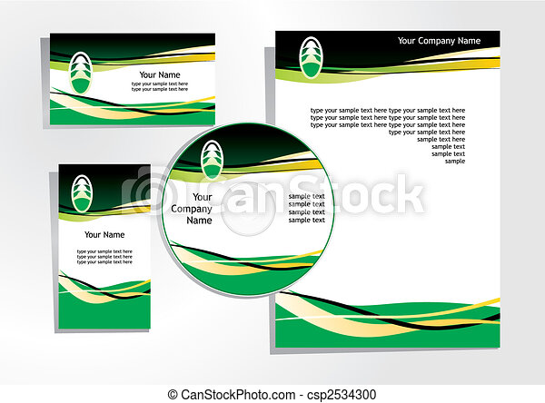 corporate identity 4 - csp2534300