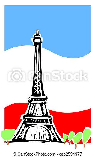 Paris France - csp2534377