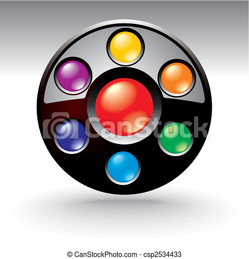 editable website navigation template - csp2534433