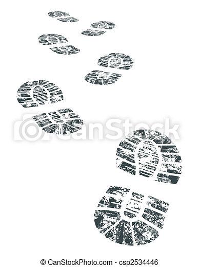 vector bootprint - csp2534446