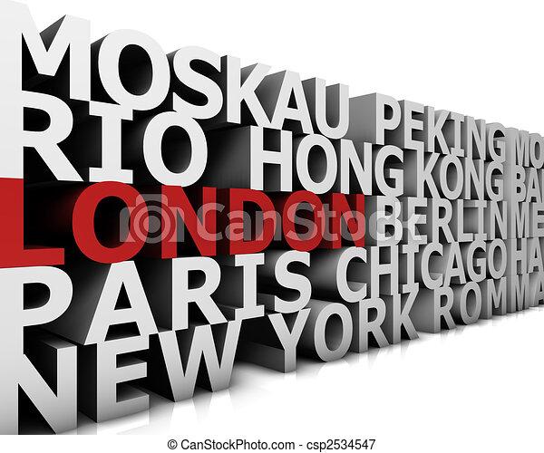 Metropolis London - csp2534547