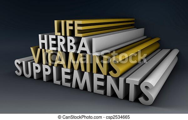 Herbal Supplements - csp2534665