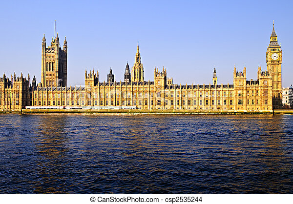 Palace of Westminster with Big Ben - csp2535244