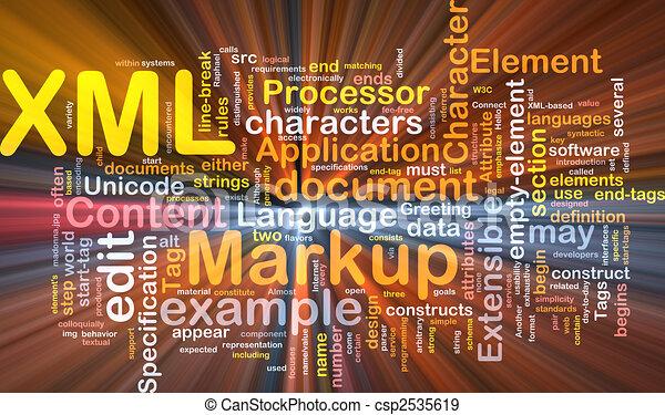 XML word cloud box package - csp2535619