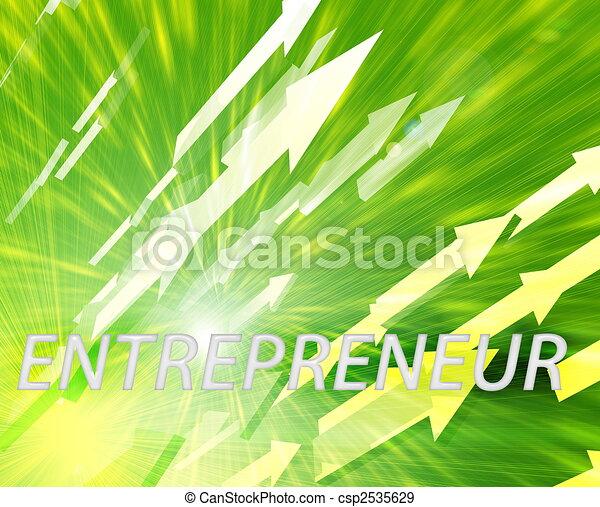 Entrepreneur management success - csp2535629