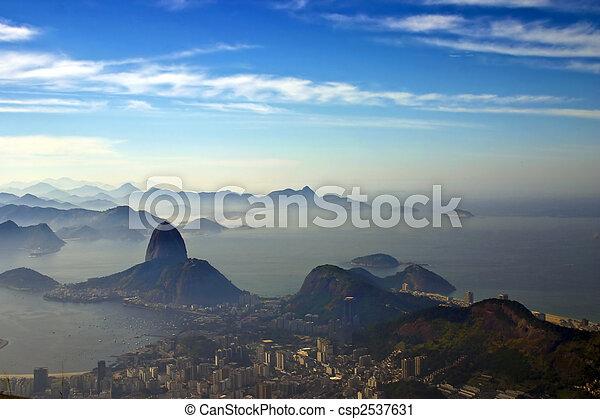 Sugarloaf mountain - csp2537631