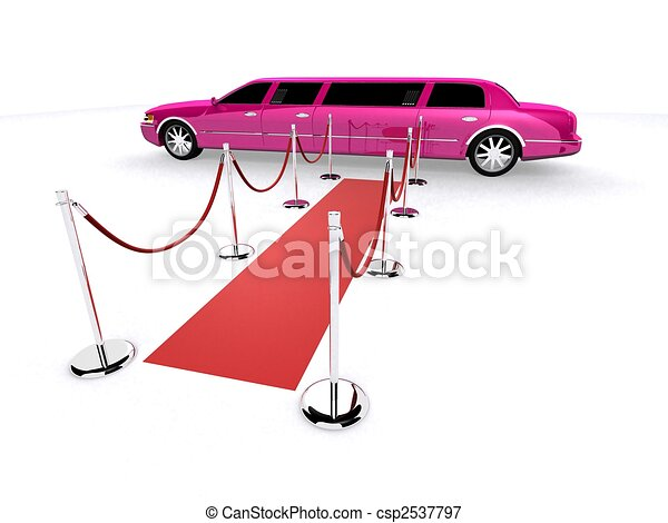 pink limo - csp2537797