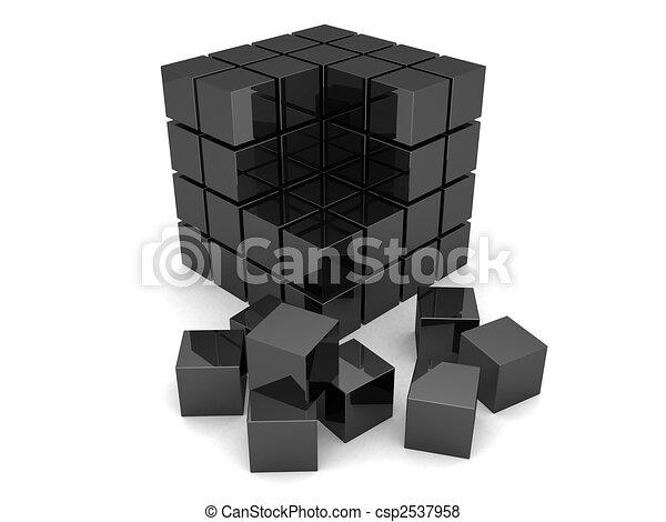 black cubes - csp2537958