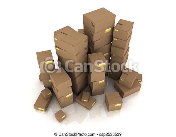 cartons - csp2538539