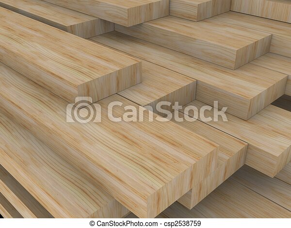 wood boards - csp2538759
