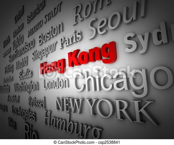 Metropolis Hong Kong - csp2538841