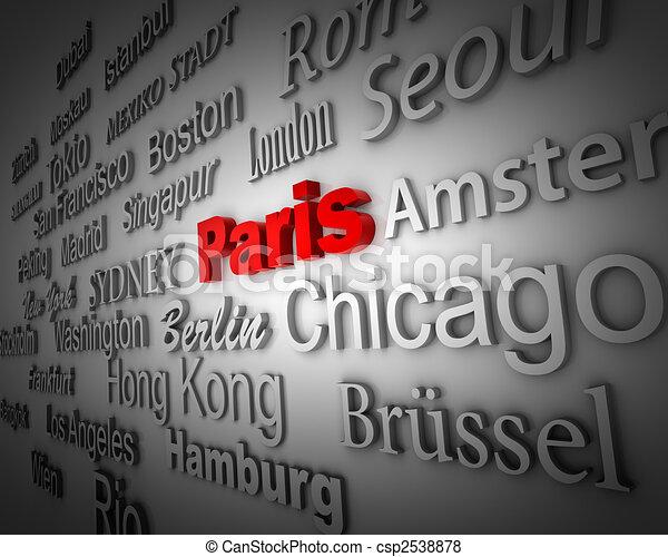 Metropolis Paris - csp2538878