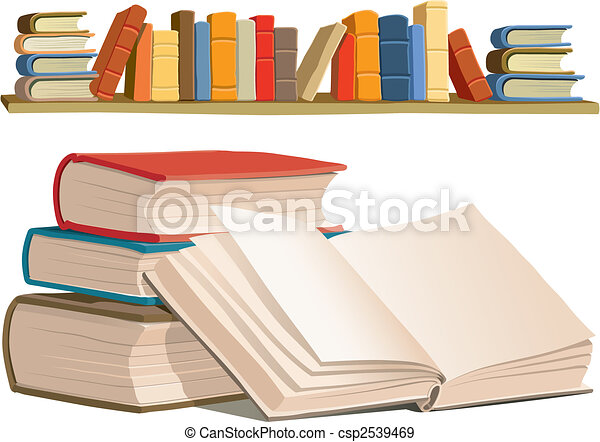 Books collection - csp2539469