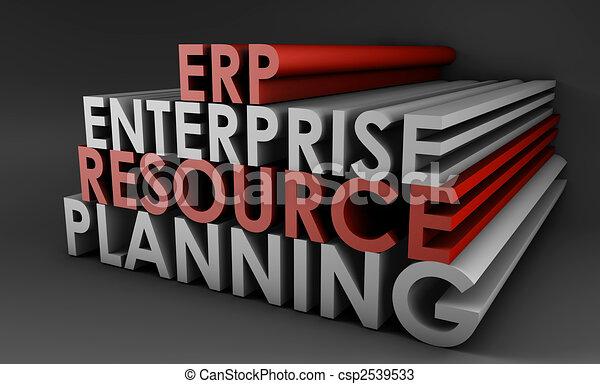 Enterprise Resource Planning ERP - csp2539533
