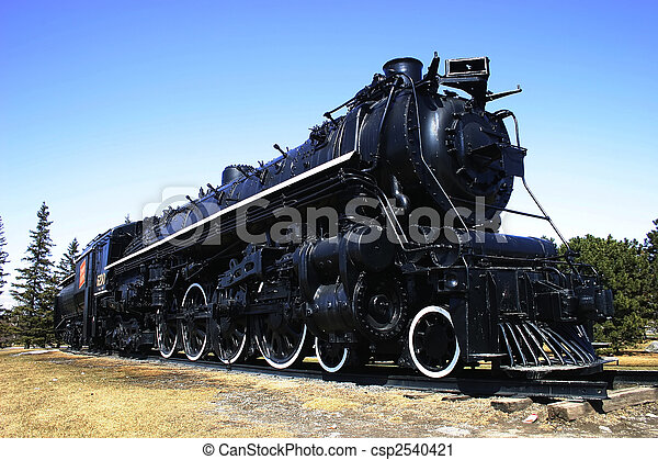 Big Steam Train - csp2540421