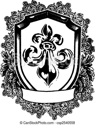 classic royalty shield - csp2540558