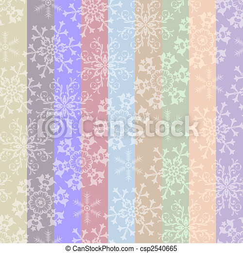 Abstract christmas striped pastel seamless pattern - csp2540665