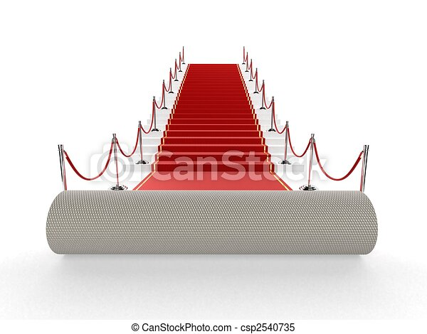 red carpet - csp2540735