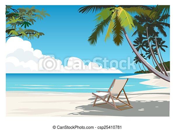 Beach - csp25410781