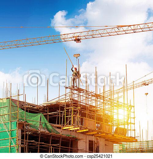 construção, local - csp25421021