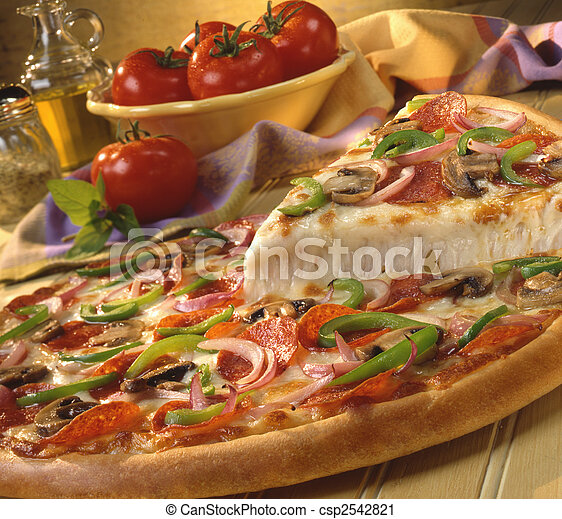 supremo,  pizza - csp2542821