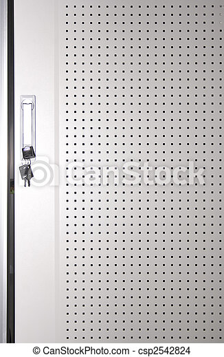 technical background of door with key - csp2542824