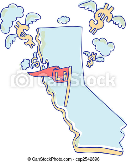 california debt  - csp2542896