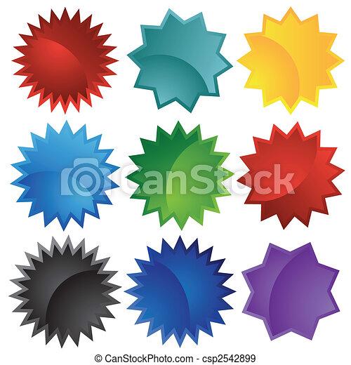 starburst set colors - csp2542899