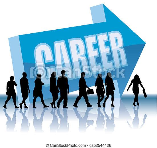 Direction - Career - csp2544426