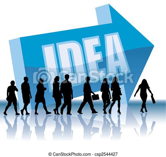 Direction - Idea - csp2544427
