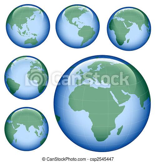 shiny earth map - csp2545447