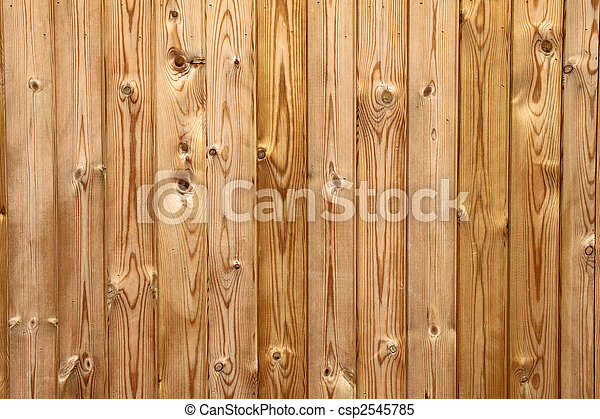 Wooden planks fence close up. - csp2545785