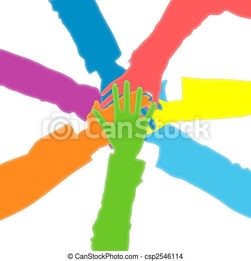 Hands - csp2546114