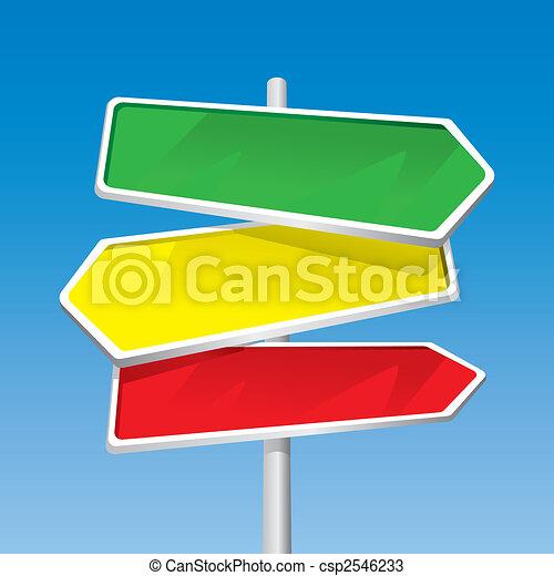 Signpost - csp2546233