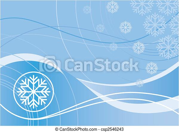 Winter Design - csp2546243
