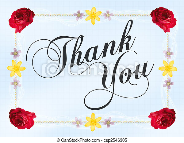 Thank You Card - csp2546305