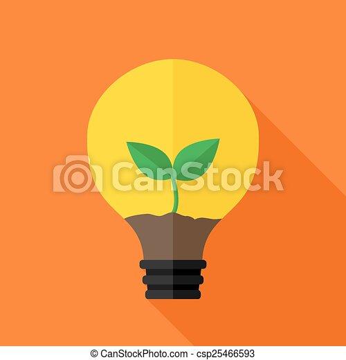 vecteurs eps de croissant plante int rieur id e lampe plat stylis csp25466593. Black Bedroom Furniture Sets. Home Design Ideas