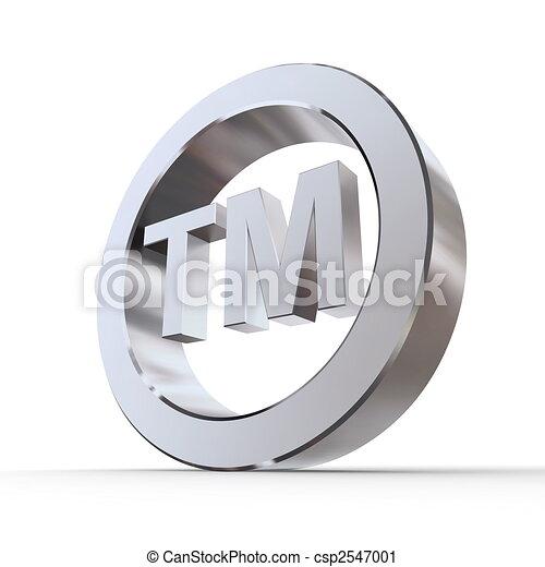 Shiny Trademark Symbol - csp2547001