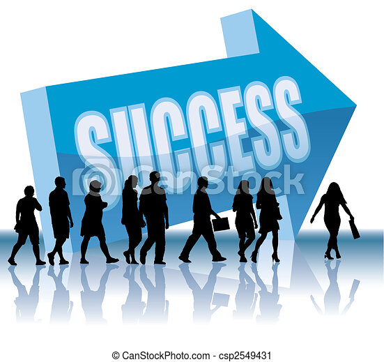 Direction - Success - csp2549431