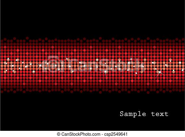 Red glitter background - csp2549641