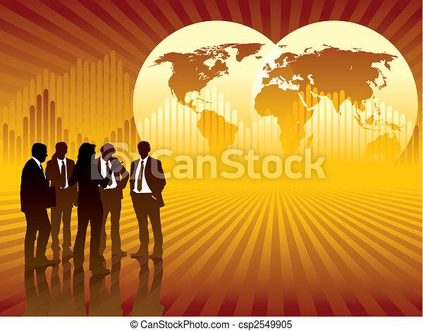 Global business - csp2549905