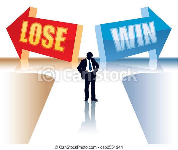 Win or lose - csp2551344