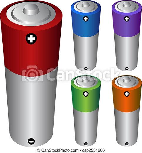 battery type AA - csp2551606