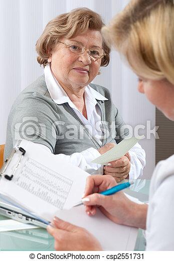medical exam - csp2551731