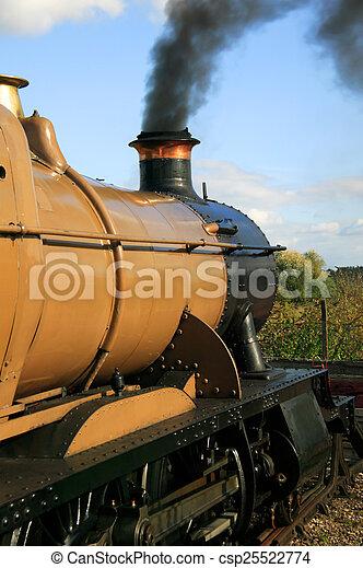 locomotive steam train engine