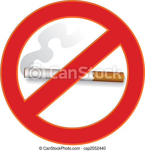 No smoking sign - csp2552440